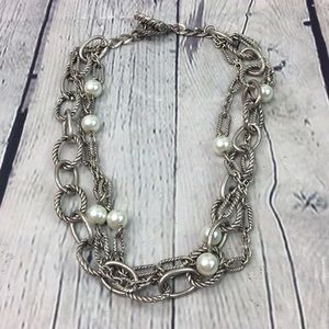 Victorian chic three layer choker necklace